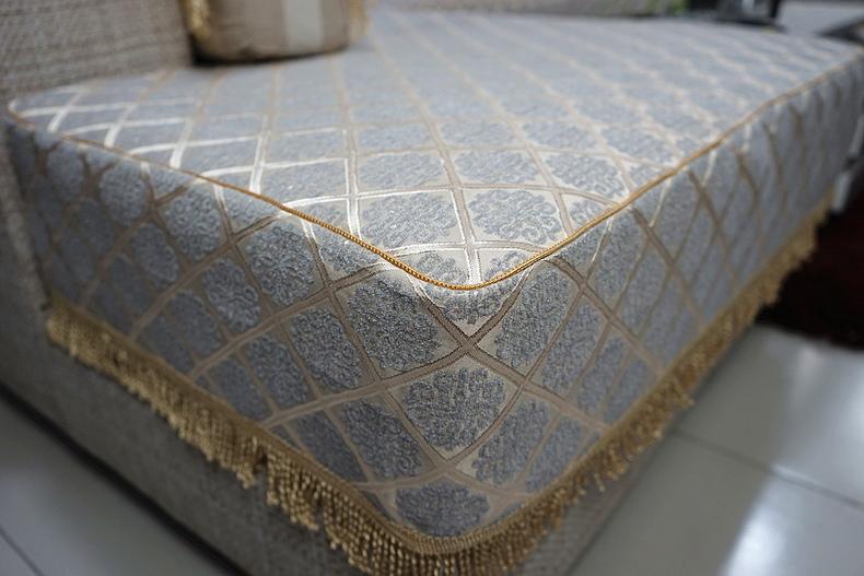 沙发笠沙发套沙发罩 欧式田园坐垫套子定做 布艺时尚防滑沙发垫套