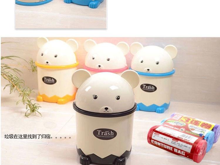 创意熊猫垃圾桶