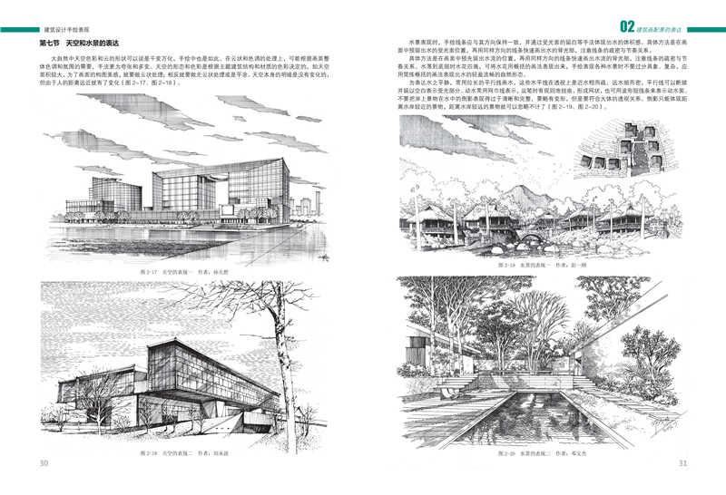 建筑设计手绘表现