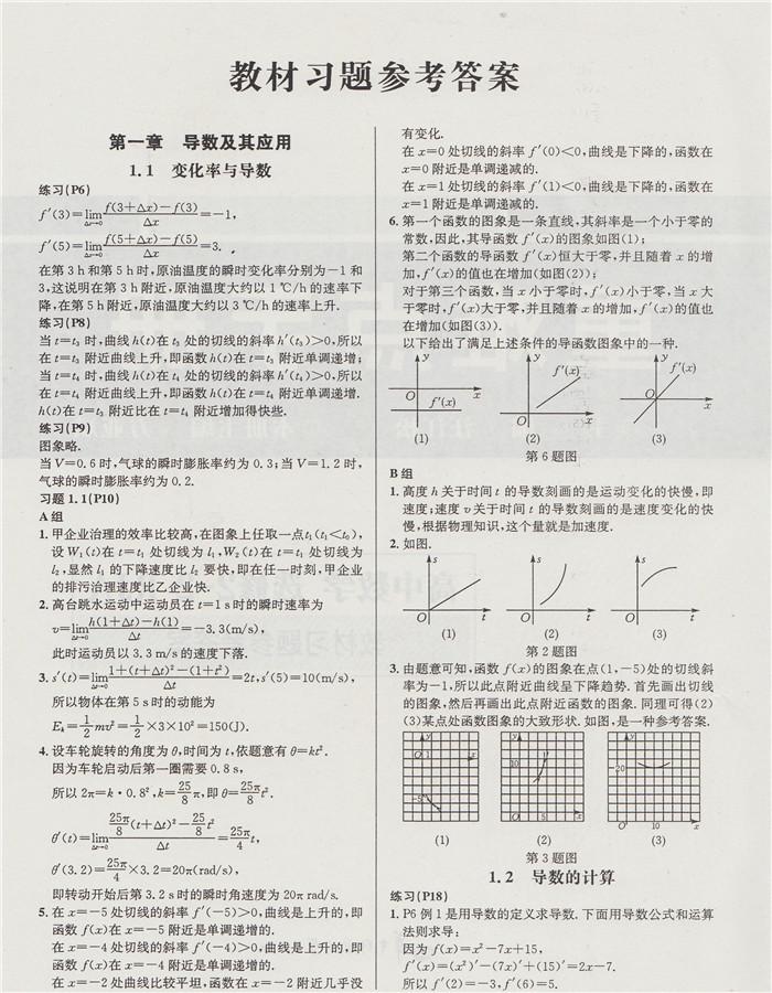 《重难点手册数学作文选修2-2RJA人教A版赠教扶与高中高中扶不图片
