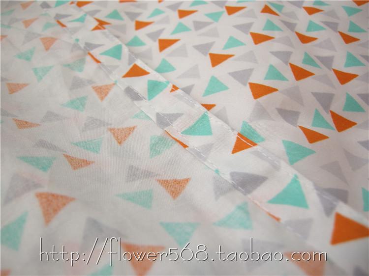 素色简约北欧清新极简卡通猫头鹰ab版纯棉单件床单被套单人宿舍床惠恩图片