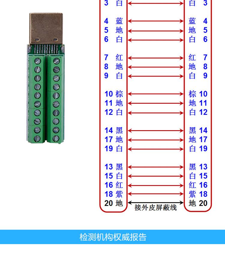 hdmi接口焊接接线图_hdmi头人工焊接图