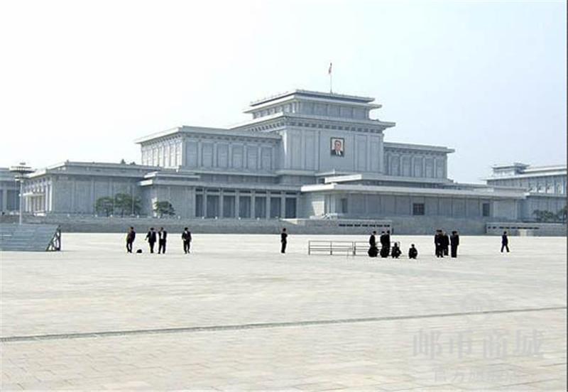 邮币商城 外国钱币 2005年北朝鲜纸币500元 锦