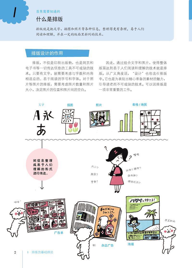 超级新品 跨平台的视觉设计:版式设计原理(全彩) (日)佐佐木刚士,风日图片