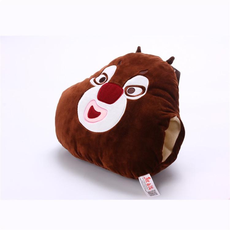 luckyted熊出没可爱卡通动漫抱枕靠枕靠垫沙发枕午睡