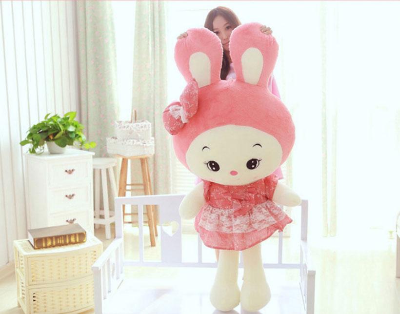 兔兔玩偶布娃娃可爱儿童女孩生日礼物小白兔公仔男女宝宝公仔小免子