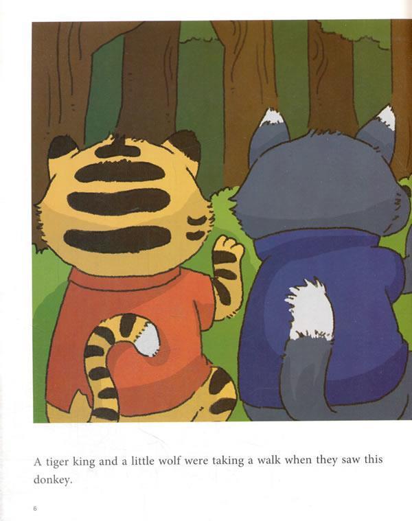 正版包邮 我的本中文故事书 动物系列——可怜的小驴 肖静萍 华语教学