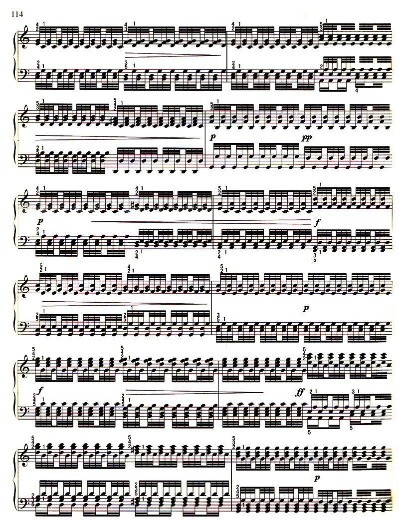 哈农钢琴练指法/哈农着图片