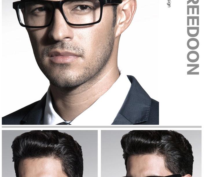 成品胖脸板材复古眼镜框架男士tr90近视眼镜架全大框