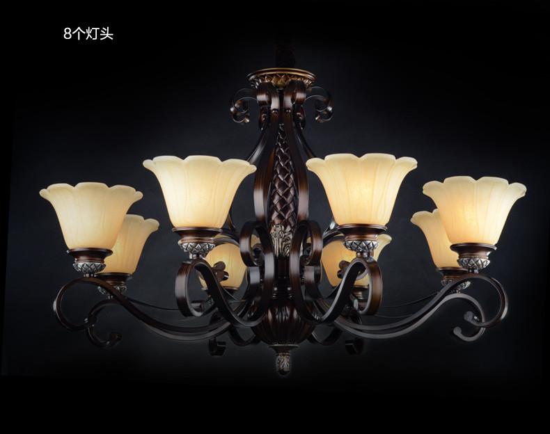 雷士照明 欧式古堡 客厅吊灯 奢华卧室餐厅现代简约创意灯饰灯具 8图片