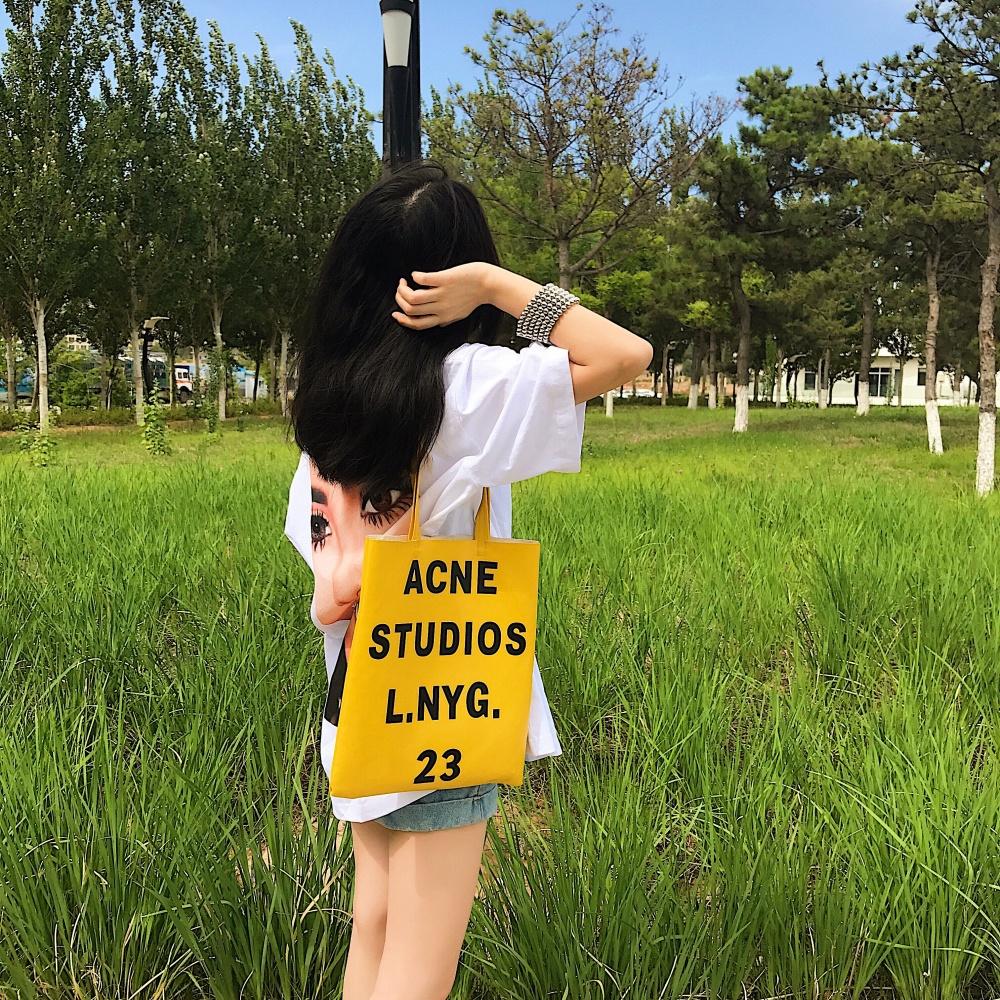 新款上市】夏装韩国ins原宿bf风中长款字母恶搞头像印花宽松短袖t恤图片