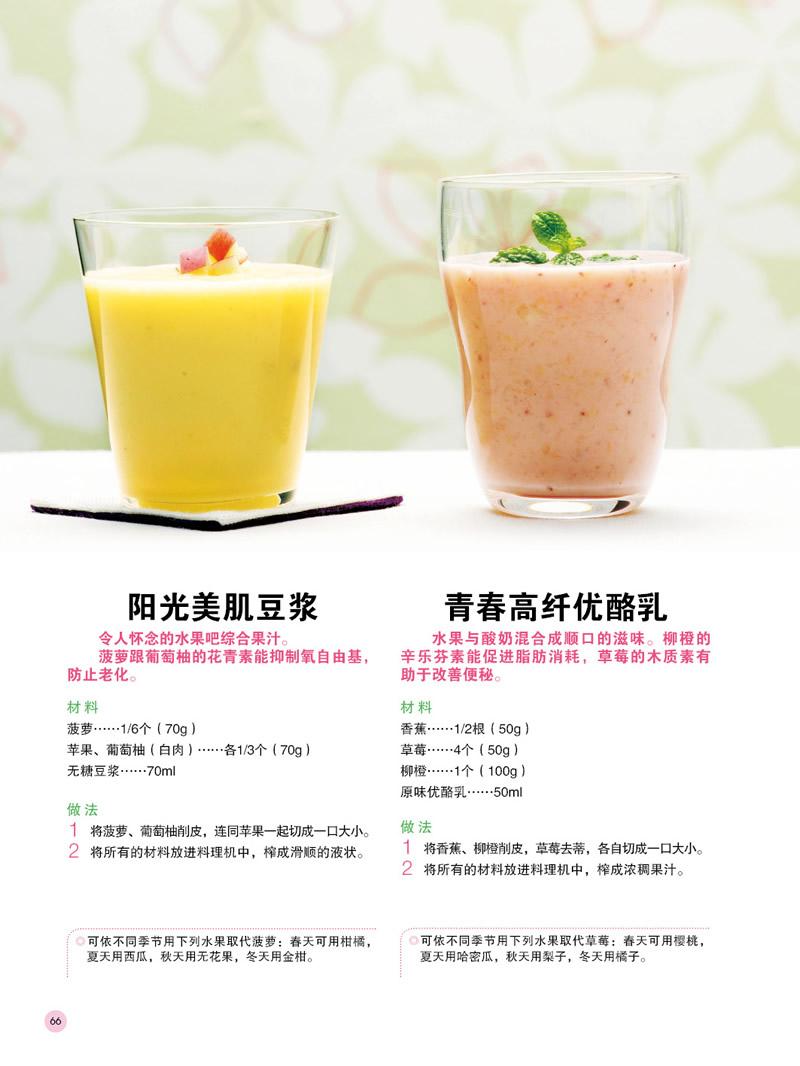台湾诚品畅销书,86道果汁燃脂瘦脸和汤品,2周减3公斤!)强力针打了两个月咬肌长出来图片