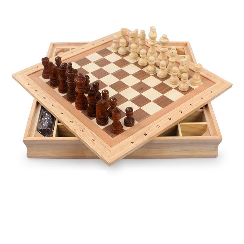欧伦萨 户外运动休闲休闲娱乐益智棋类星球实木立体国际象棋木制大号图片
