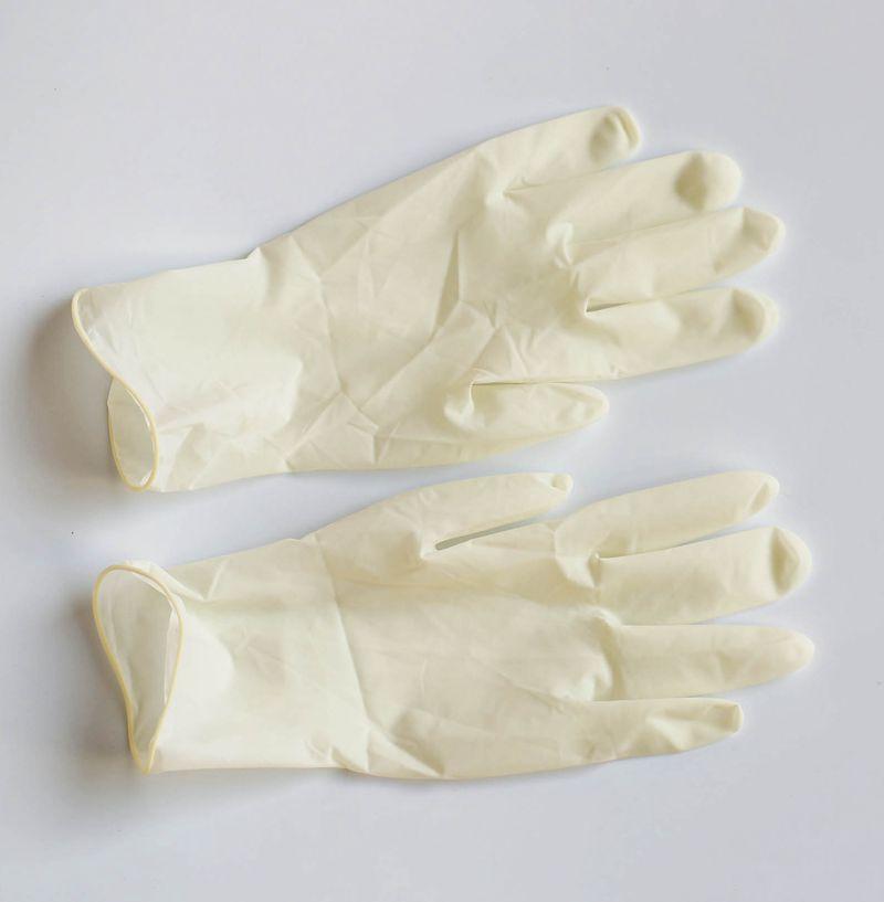 qma新款加厚一次性医院用无菌橡胶检查手套 乳胶手套独立包装100只