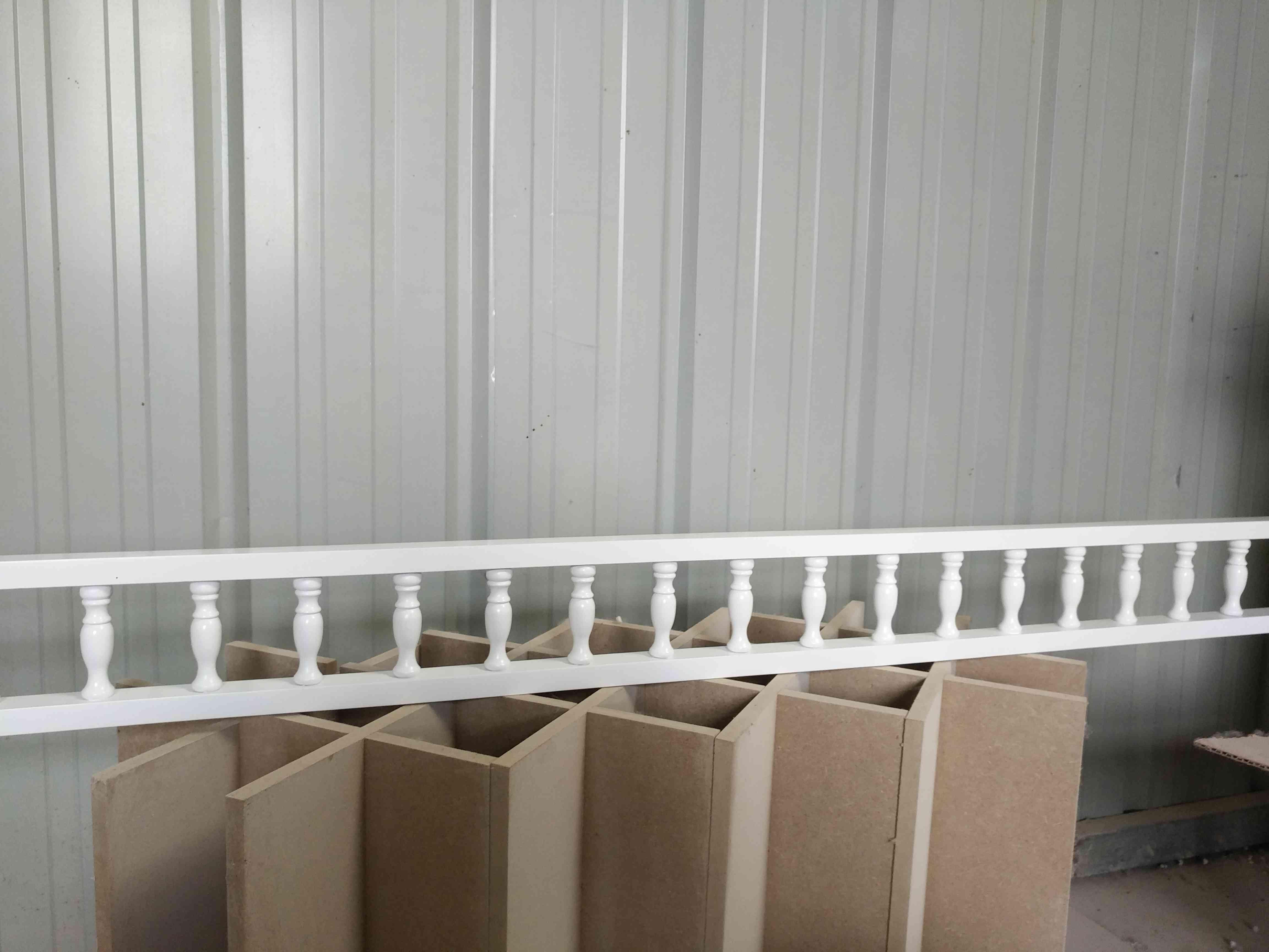 专业定制实木酒柜橱柜小葫芦廊桥装饰围栏杆圆柱罗马柱酒架摆件