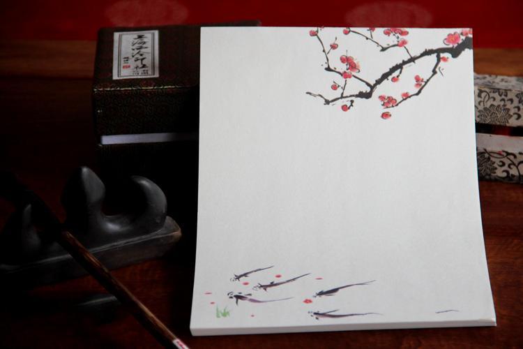 中国风传统复古中式5号信封图片