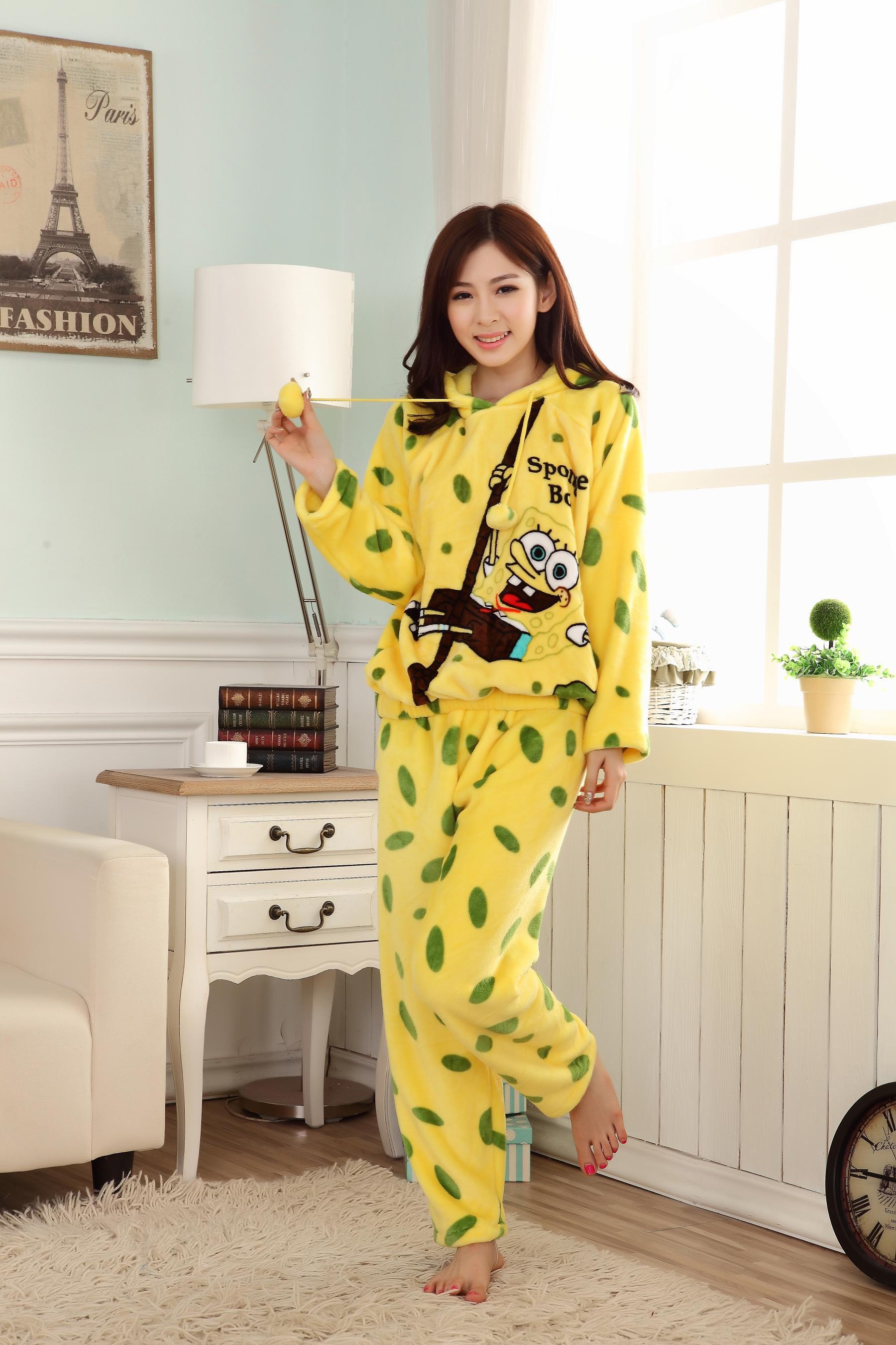 2014新款冬季法兰绒女士睡衣