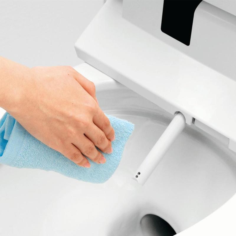 马桶盖cwrl2温水洗净坐便盖象牙白