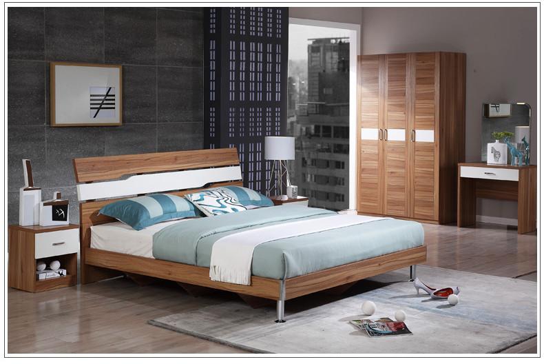 【全友床】全友家居时尚卧室家具套装106303