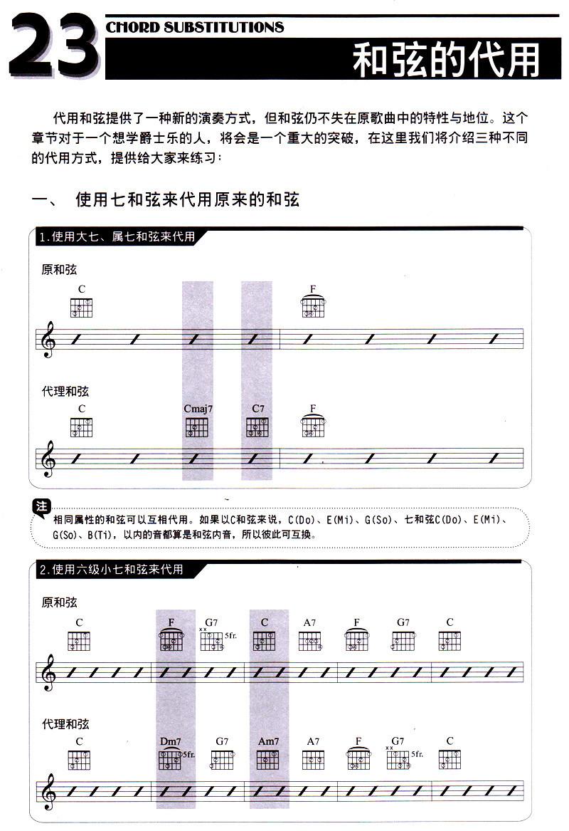 五线谱与简谱 2.音阶与调式