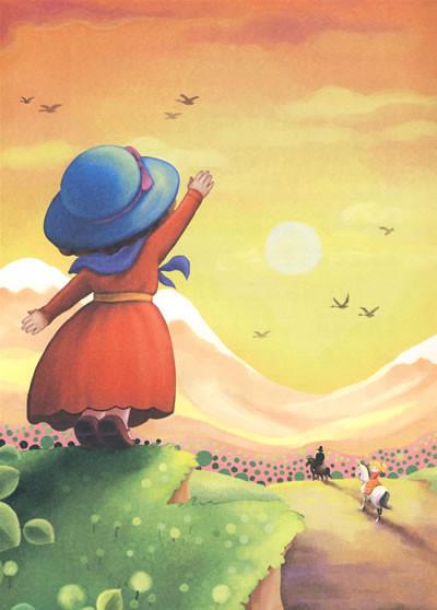 欧美童话风景图片