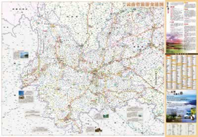 泸沽湖景区地图 西双版纳旅游地图