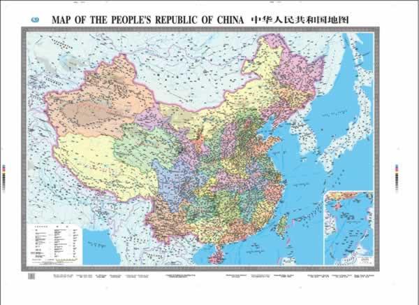 中华人民共和国地图全图大图_旅游地图