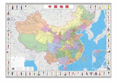 中国地图出版社中国地图 商品参数 版次:5 印次:36 印刷时间:2014-01