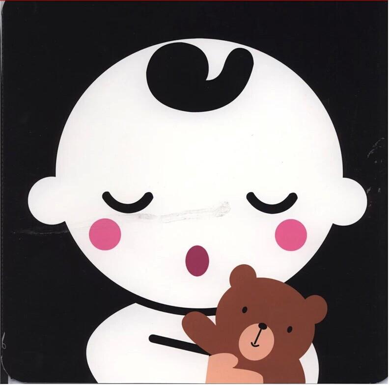 图书 少儿 幼儿启蒙 启蒙认知 黑白卡 0-12个月视觉激发  《小婴孩