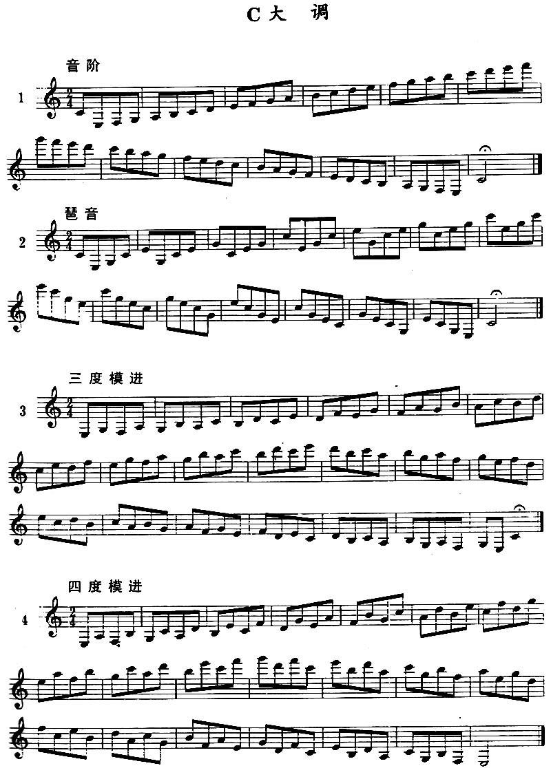 f小调练习曲 谱子