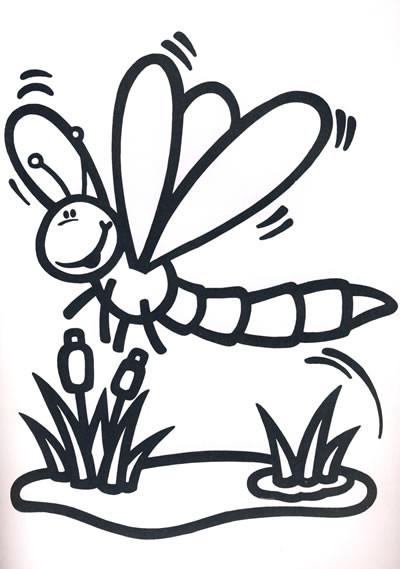 2-6岁 宝宝快乐涂色画 蜡笔画 涂色填色画 小孩学画涂鸦 趣味涂色