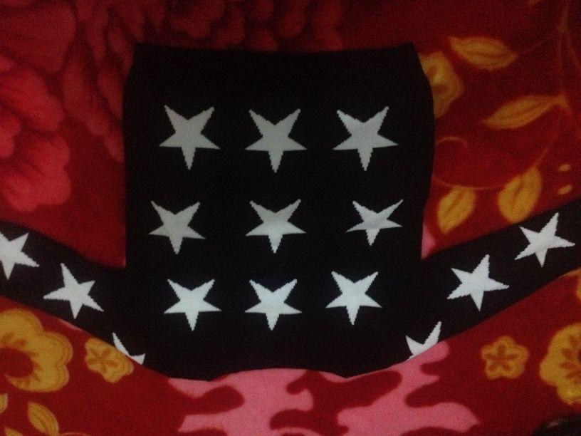 修饰图片边角星星花纹