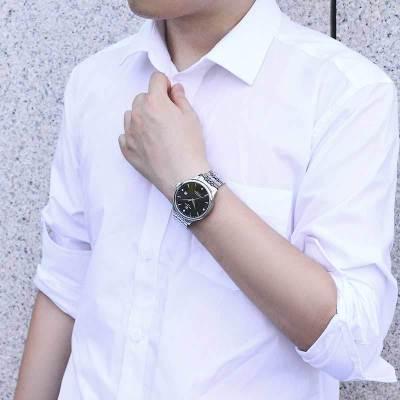 天王表手表 昆仑系列经典 时尚商务男士手表机械表潮流休闲正品男表GS5876