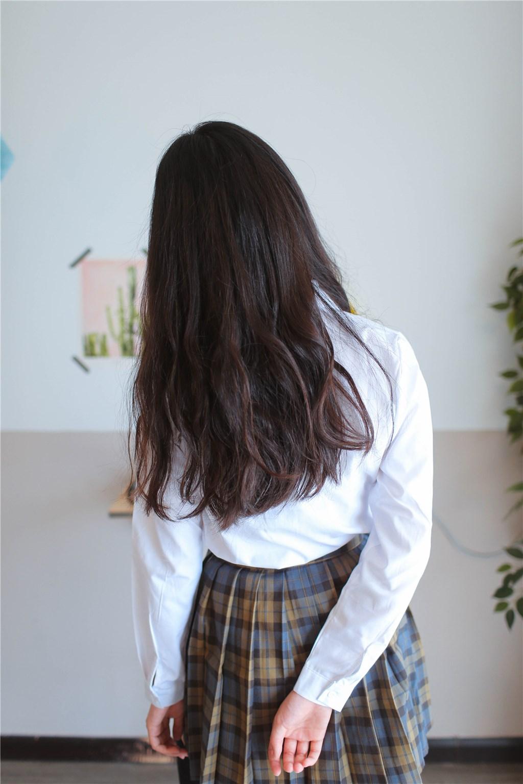 【兔玩映画】衬衫格裙 兔玩映画 第18张