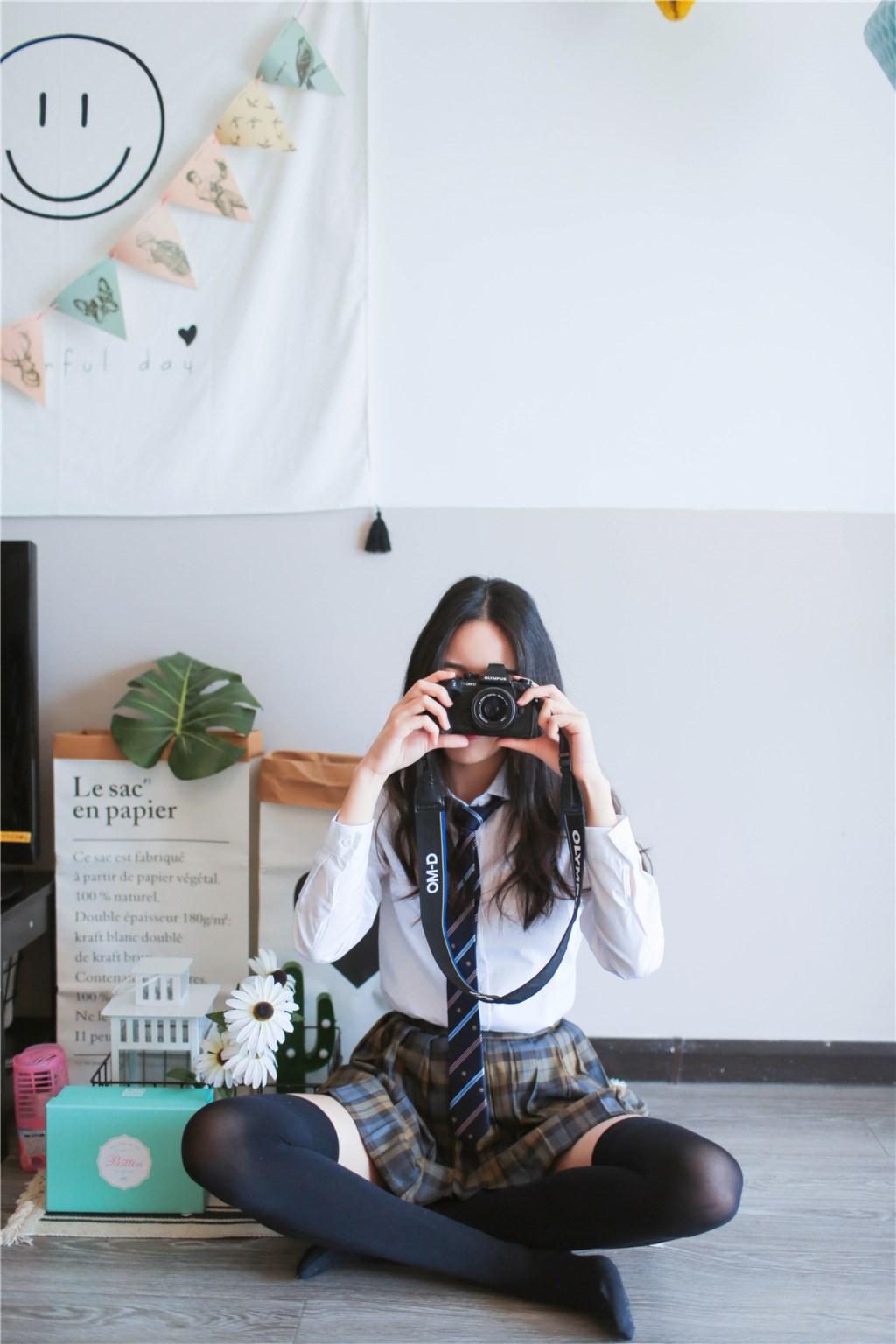【兔玩映画】衬衫格裙 兔玩映画 第17张