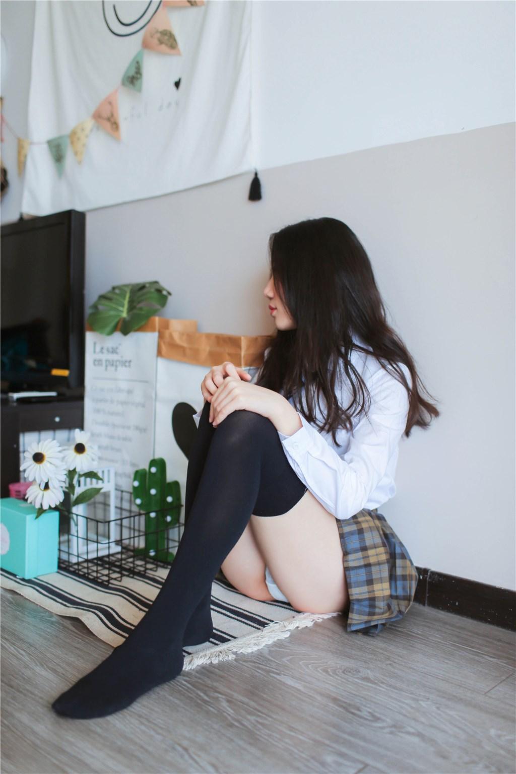 【兔玩映画】衬衫格裙 兔玩映画 第6张