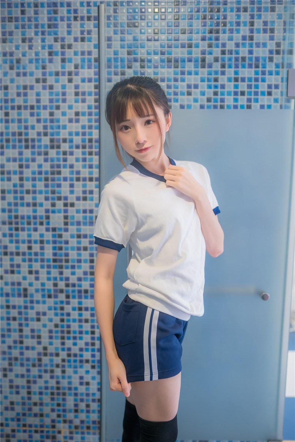【兔玩映画】vol.20-湿身体操服 兔玩映画 第5张