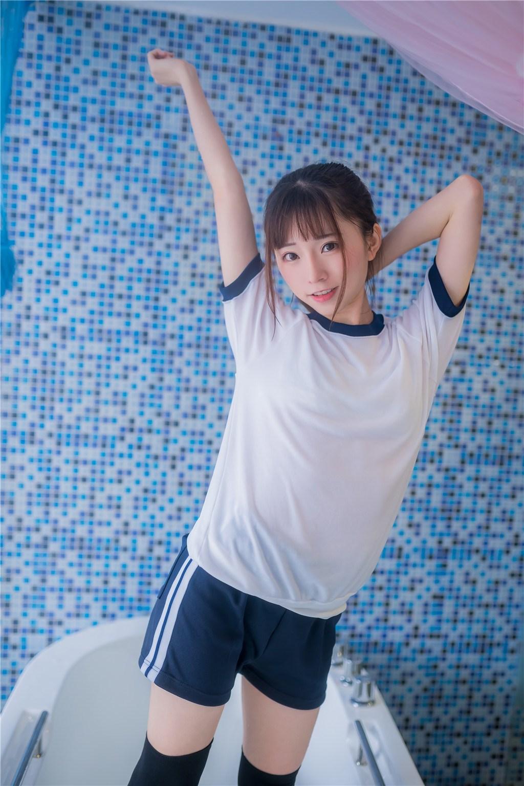 【兔玩映画】vol.20-湿身体操服 兔玩映画 第42张