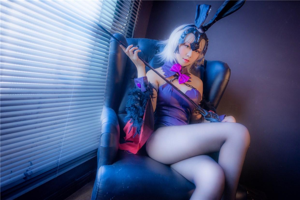 【兔玩映画】兔女郎vol.29-黑贞 兔玩映画 第9张