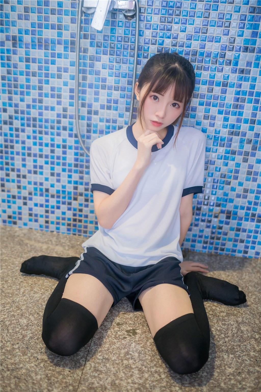 【兔玩映画】vol.20-湿身体操服 兔玩映画 第16张