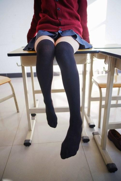 【兔玩映画】过膝袜 兔玩映画 第55张