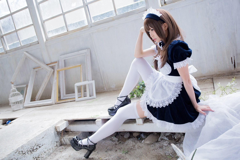 【兔玩映画】白丝女仆 兔玩映画 第47张