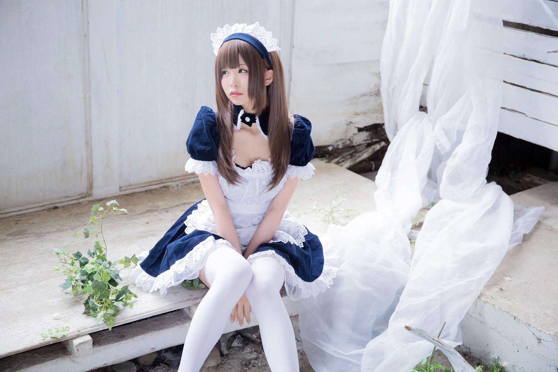 【兔玩映画】白丝女仆 兔玩映画 第42张