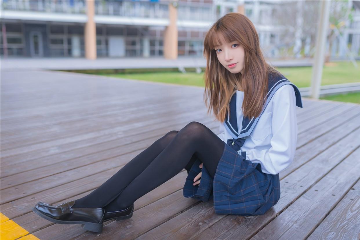 【兔玩映画】小清新JK少女 兔玩映画 第41张