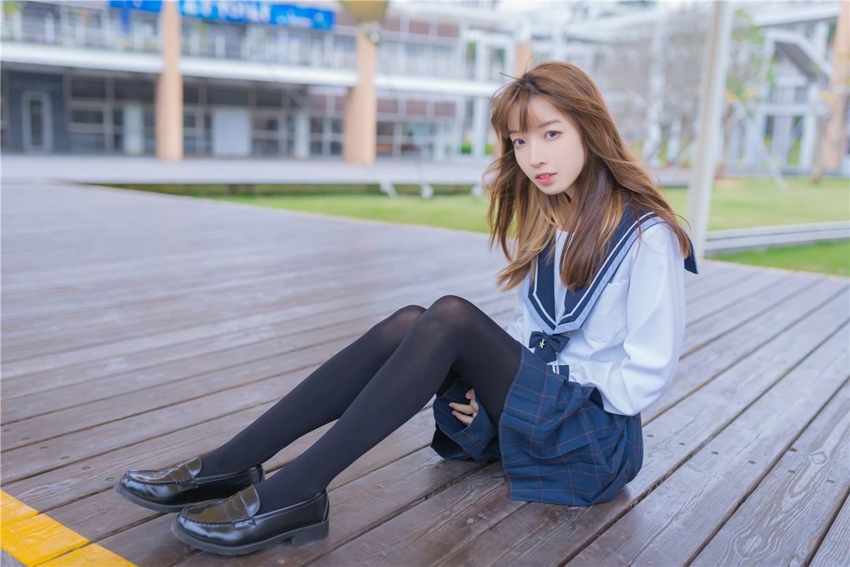 【兔玩映画】小清新JK少女 兔玩映画 第42张
