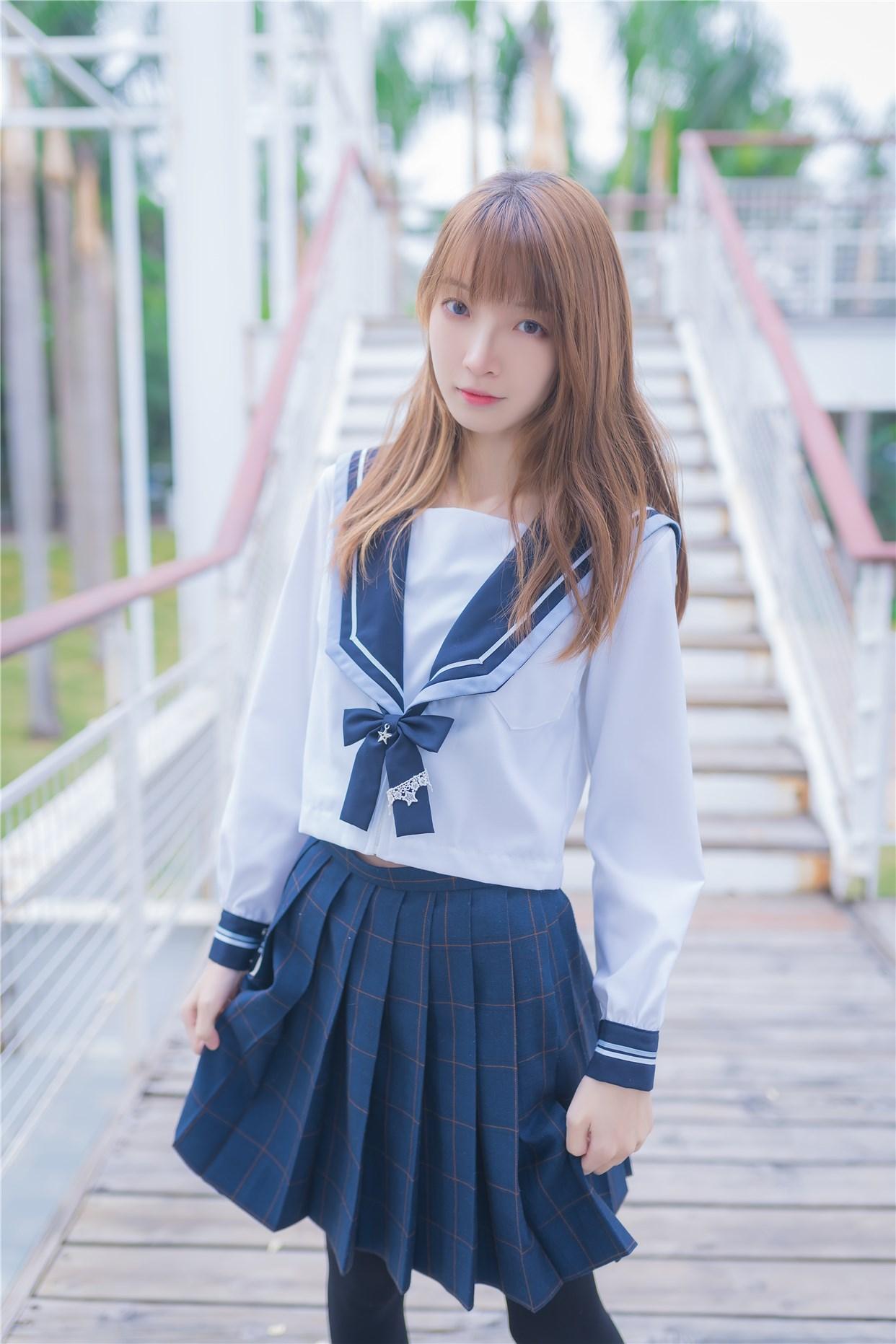 【兔玩映画】小清新JK少女 兔玩映画 第39张