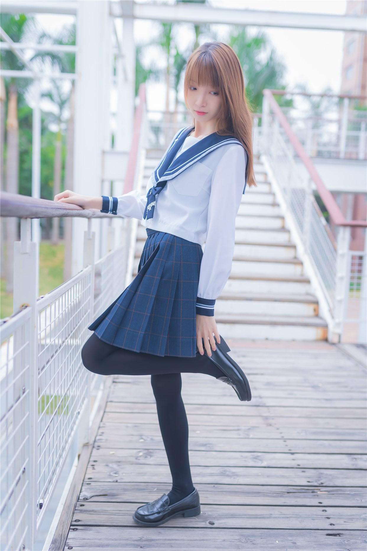 【兔玩映画】小清新JK少女 兔玩映画 第40张