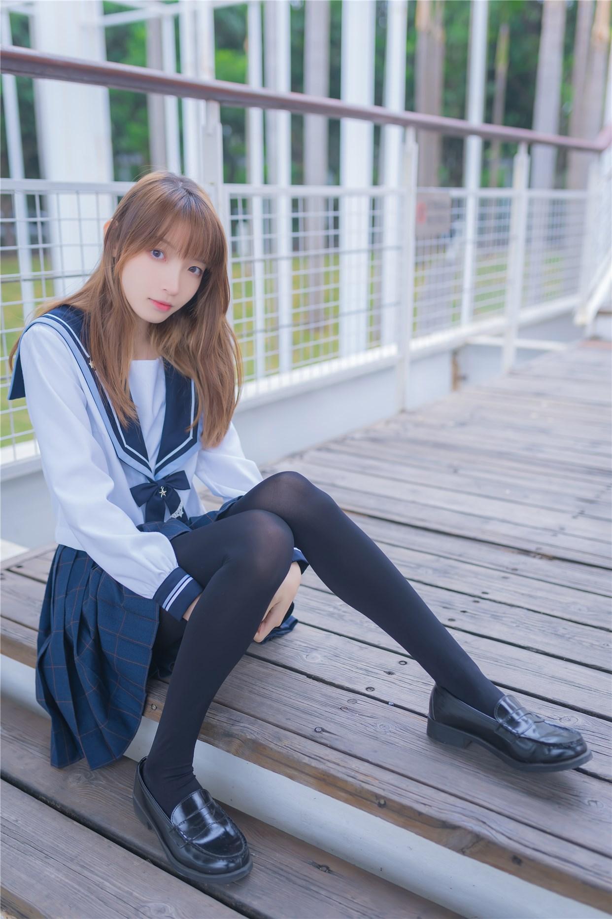 【兔玩映画】小清新JK少女 兔玩映画 第36张