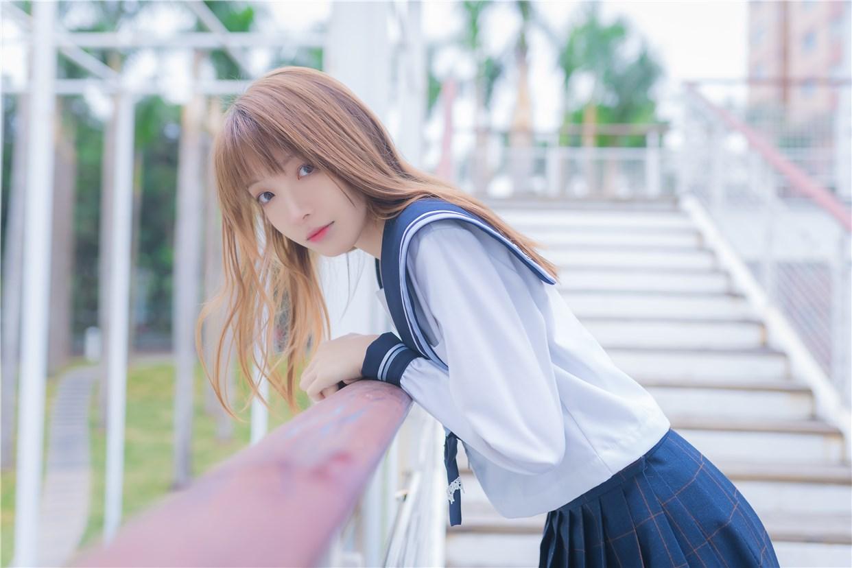 【兔玩映画】小清新JK少女 兔玩映画 第31张
