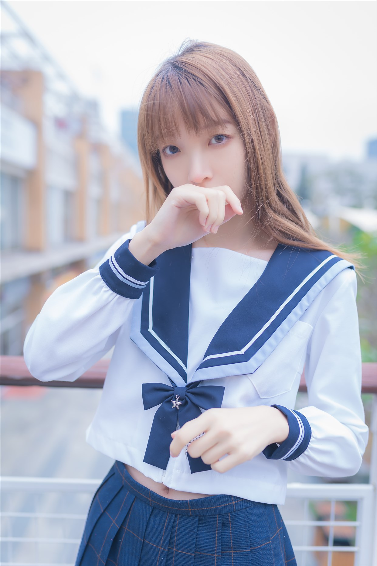 【兔玩映画】小清新JK少女 兔玩映画 第21张